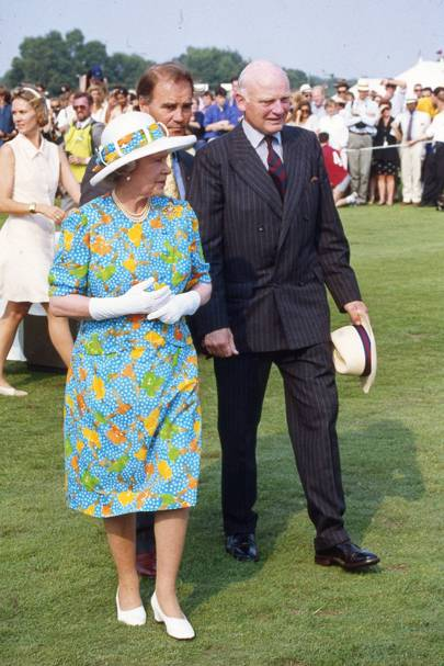 The Queen, John Tylor and Major General Bernard Gordon-Lennox