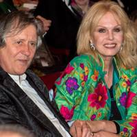 Stephen Barlow and Joanna Lumley
