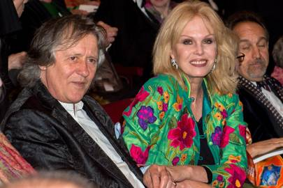 Stephen Barlow and Joanna Lumley