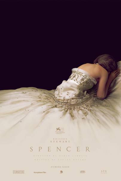 First teaser poster released for 'Spencer': Kristen Stewart as Princess Diana