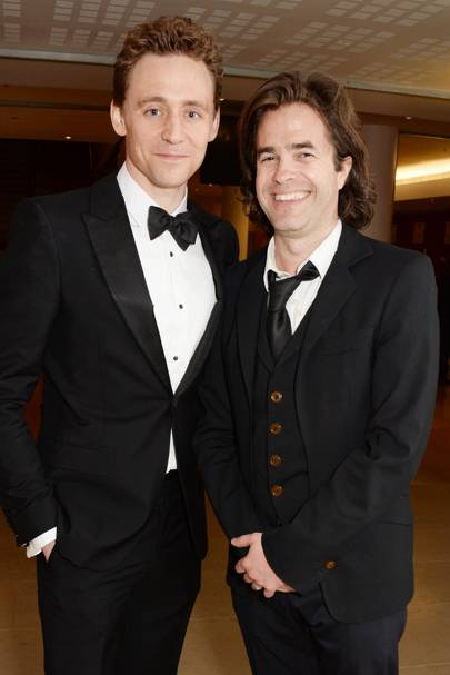 Tom Hiddleston and Rupert Goold