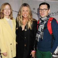 Sarah Mower, Emma Hill and Erdem Moralioglu