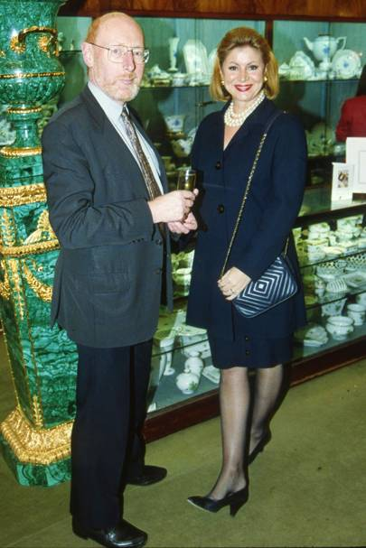 Sir Clive Sinclair and Angela Stewart