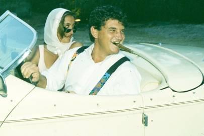 Giuletta Spinta and Baron Rolf Junta de la Cabeza