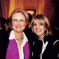 The Hon Artemis Cooper and Juliet Nicolson
