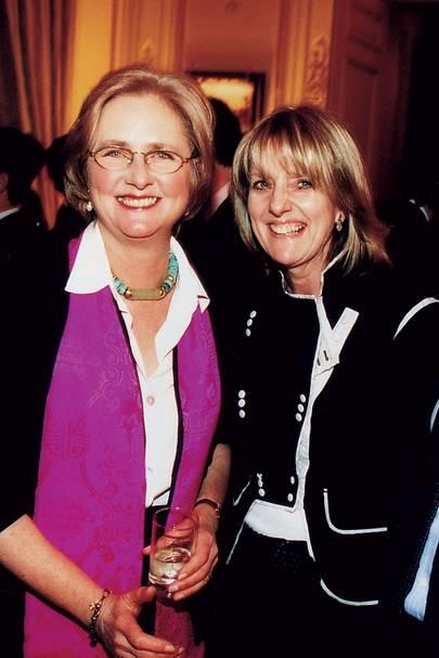 The Hon Artemis Cooper and Juliet Nicolson
