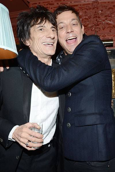 Ronnie Wood and Jamie Hince
