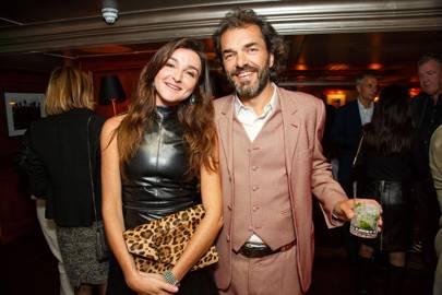 Hortensia Visconti and Cyril de Commarque