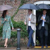 The Duchess of Cambridge, the Duke of Cambridge and Prince Harry