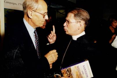 Lord Tebbit and Rev David Johnson
