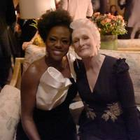 Viola Davis and Glenn Close