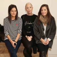Violet von Westenholz, Sophia Hesketh and Amanda Sheppard