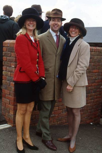 Mark Wiggin, Lucinda Graham and Mrs Nick Wright