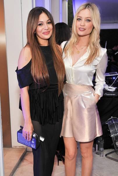 Zara Martin and Laura Whitmore