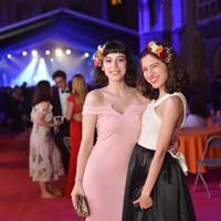 Tess Davidson and Ciara Hughes