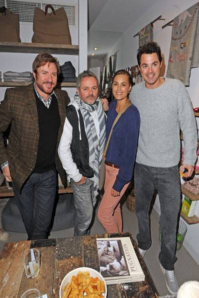 Simon Le Bon, Nellee Hooper, Yasmin Le Bon and Lucas White