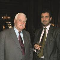 Sir James Cayzer and Trevor Pickett