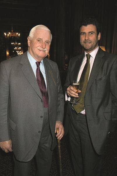 Sir James Cayzer and Trevor Pickett
