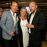 Martin Kemp, Linda Bracey and Chris Bracey
