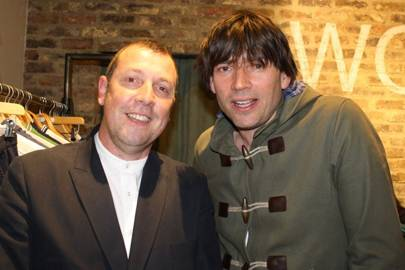 Fergus Patterson and Alex James