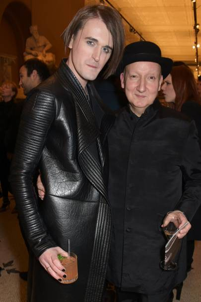 Gareth Pugh and Stephen Jones
