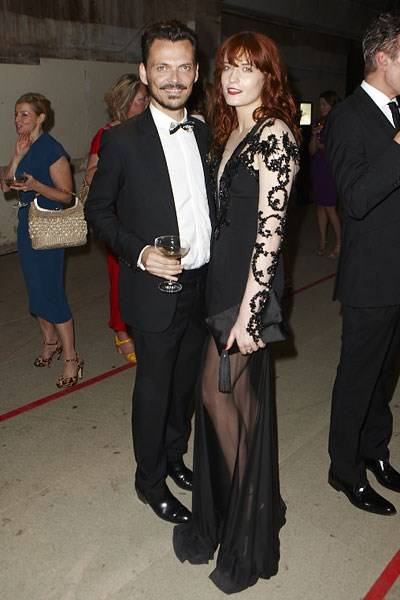 Matthew Williamson and Florence Welch