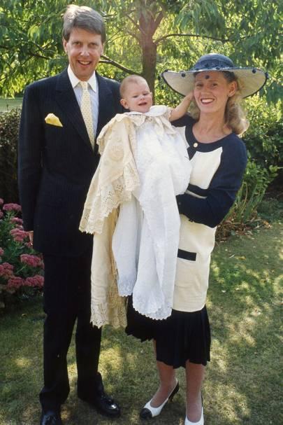 Sir Tobias Clarke, Lawrence Clarke and Lady Clarke