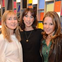Jackie Annesley, Samantha Cameron and Tilly Wood