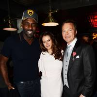 Idris Elba, Caroline Acosta and Pete Tong