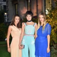 Eliza Moncreiffe, Alexandra Moncreiffe and Idina Moncreiffe