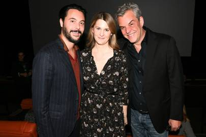 Jack Huston, Lady Kinvara Balfour and Danny Huston