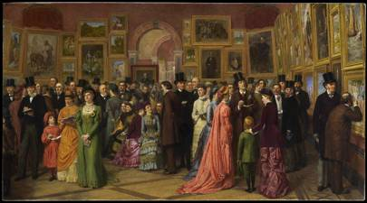 William Powell Frith's £12 million 'The Private View' arrives in Harrogate