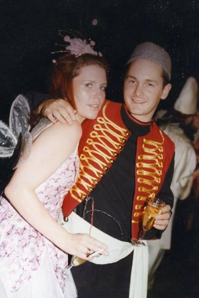 Harriet de Jersey and Jamie Campbell