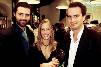 Darius Danesh, Dahlia Khanna and Fritz von Westenholz