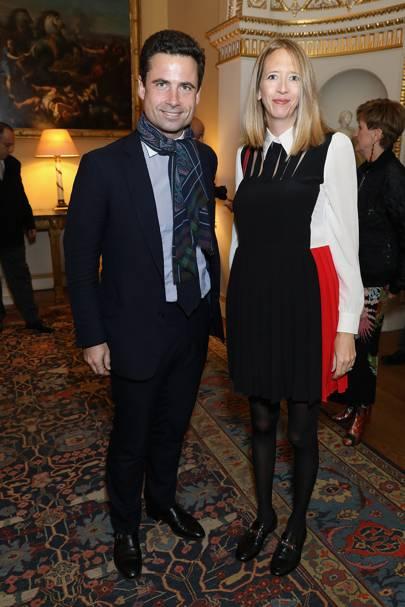 Leo Fenwick and Flora Hesketh