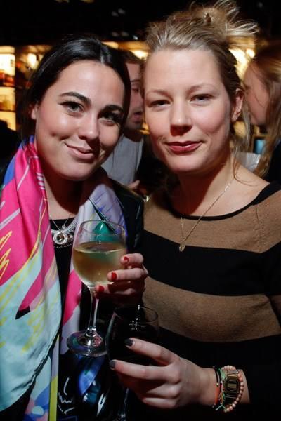 Jessica Alston and Davina Harbord