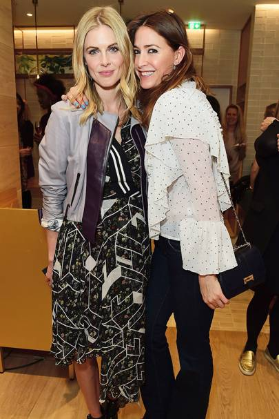 Donna Air and Lisa Snowdon