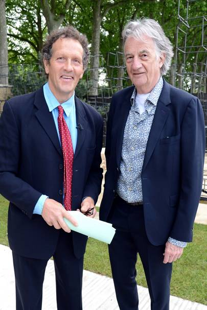 Monty Don and Sir Paul Smith