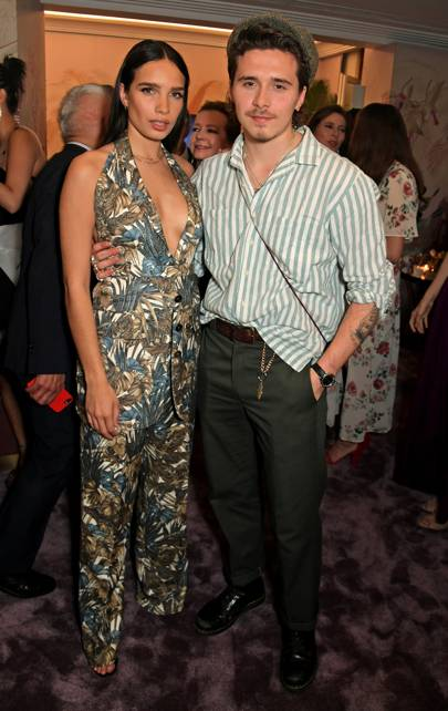 Hannah Cross and Brooklyn Beckham