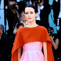 Claire Foy in Messika at Venice Film Festival
