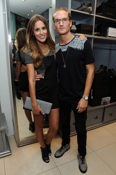 Lucy Watson and Oliver Proudlock
