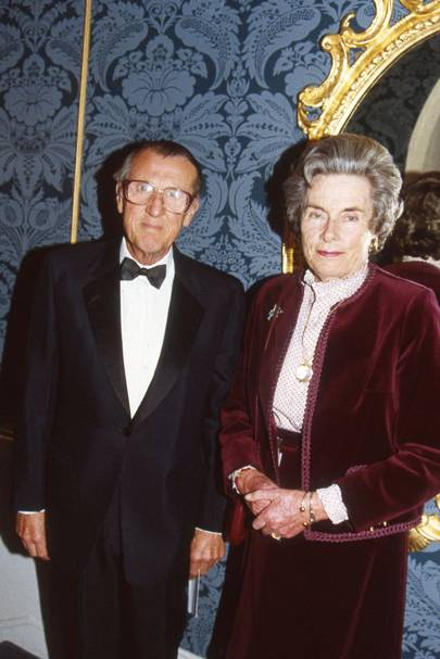 Lord Brabourne and Countess Mountbatten of Burma