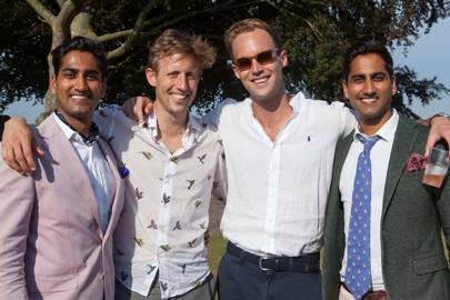 Rishi Ravalia, George Frost, Tom Gamborg and Raj Ravalia