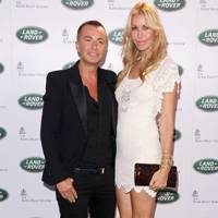 Julien Macdonald and Melissa Odabash