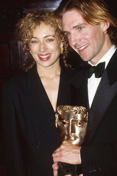 Alex Kingston and Ralph Fiennes