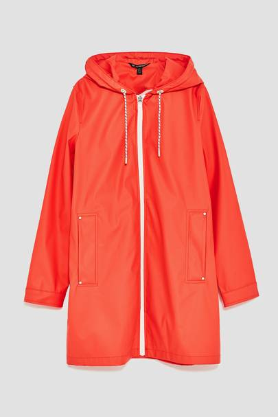 Zara raincoat