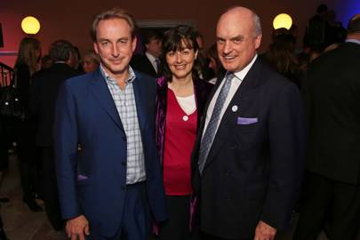 Philip Mould, Georgia Coleridge and Nicholas Coleridge