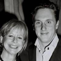 Mrs Nicholas Taylor and Harry Becher