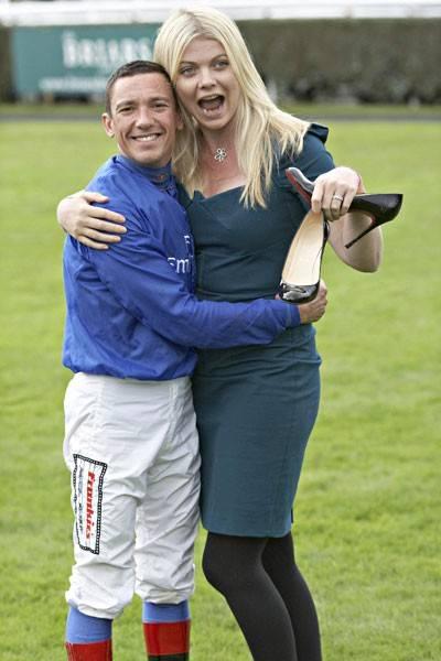 Frankie Dettori and Jemma Kidd