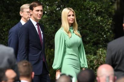 Ivanka Trump y su esposo, Jared Kushner, asesor principal de la Casa Blanca.